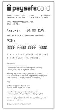 check paysafecard